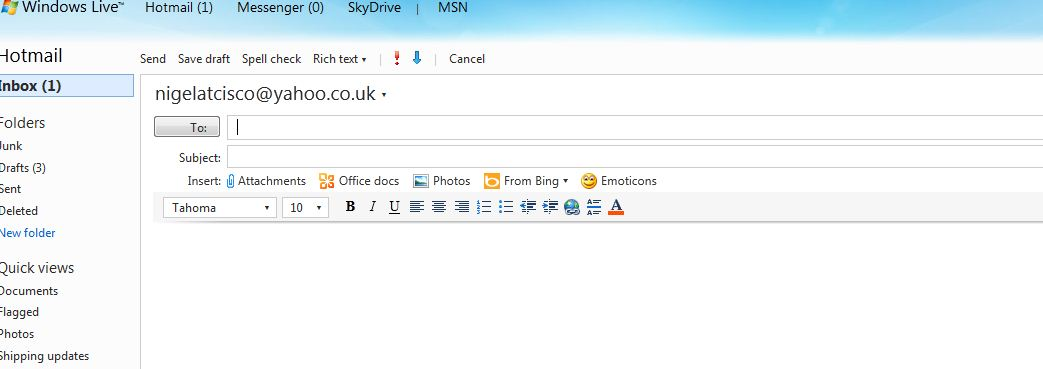 Hotmail is great