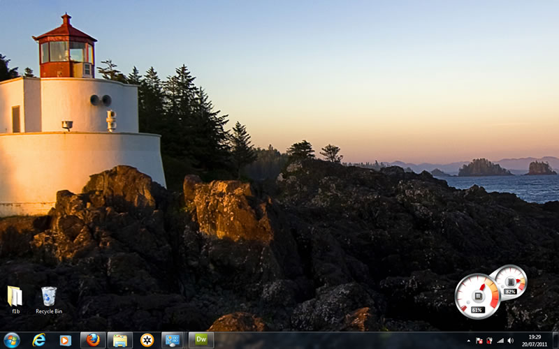 new back-ground for windows 7